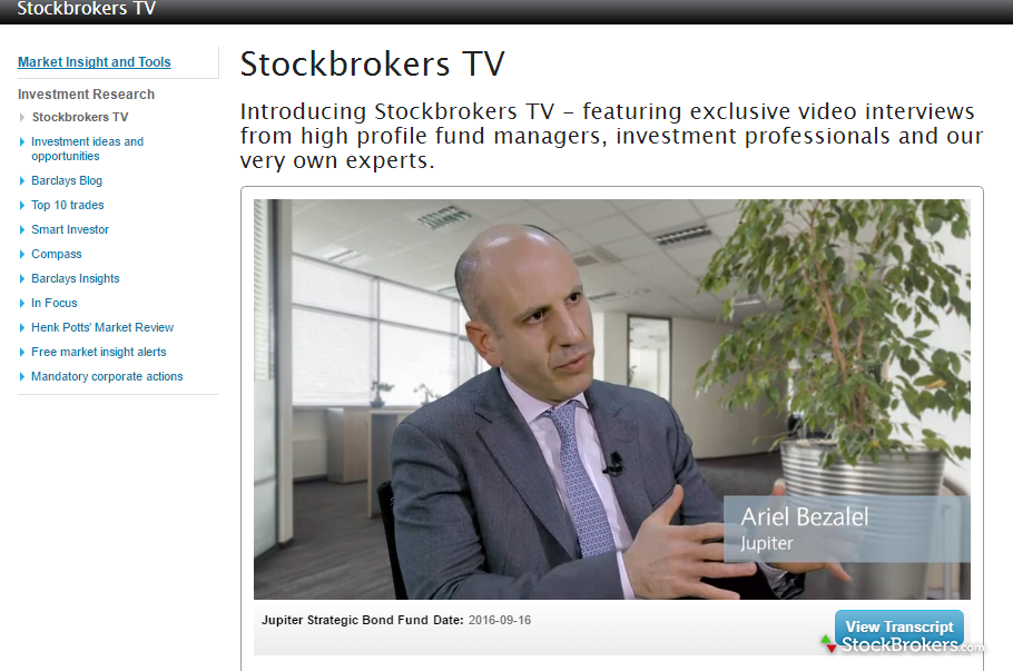 Barclays Stockbrokers TV
