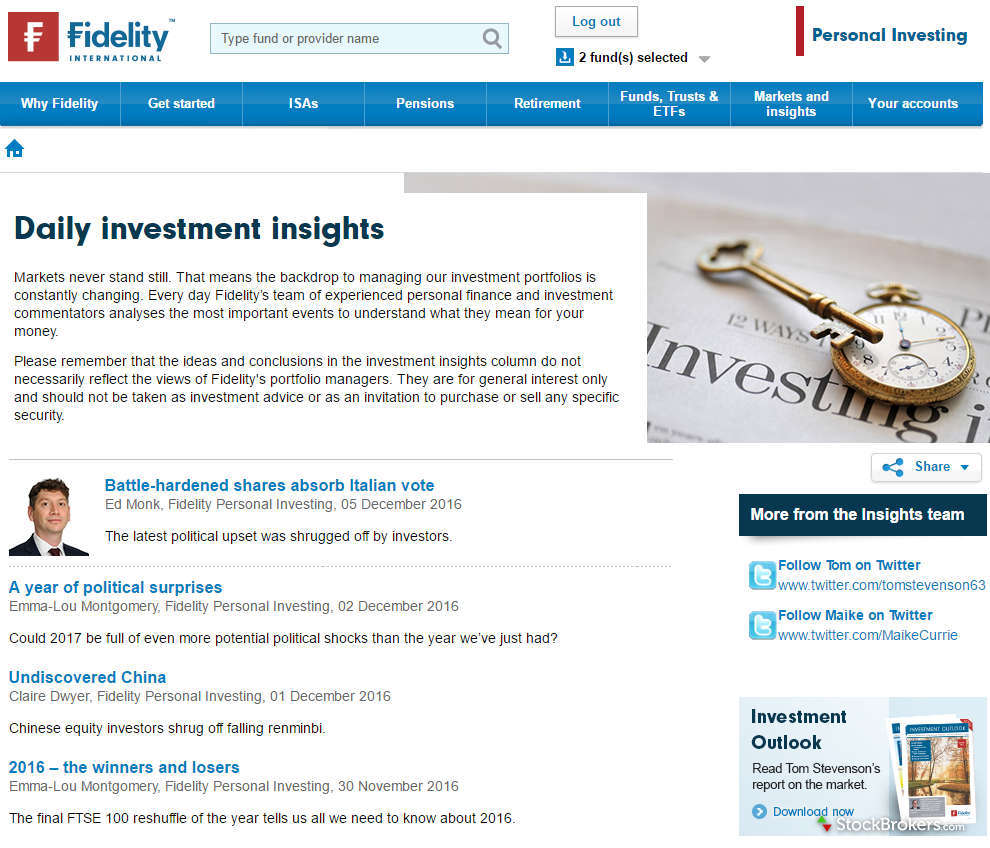 Fidelity International Website Misc 1