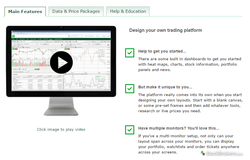 TD Direct Investing Advanced Trading Platform