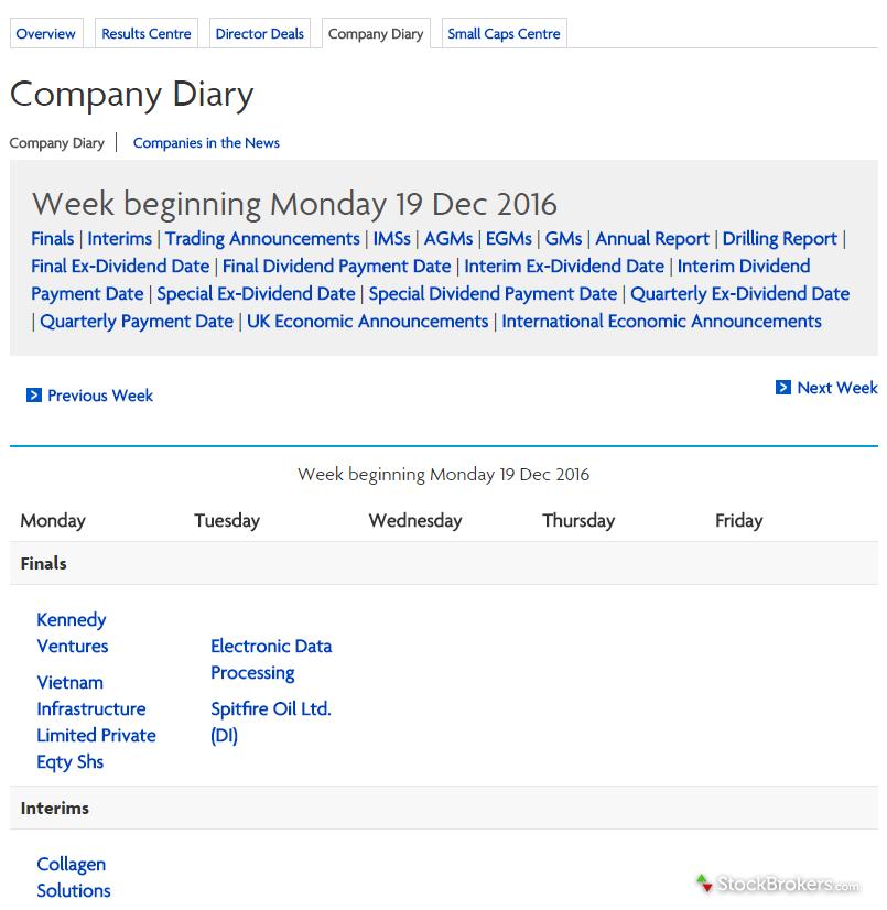 Halifax Company Diary