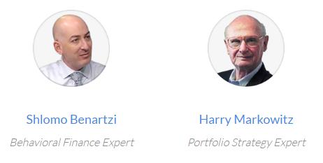 Personal Capital Shlomo Benartzi Harry Markowitz