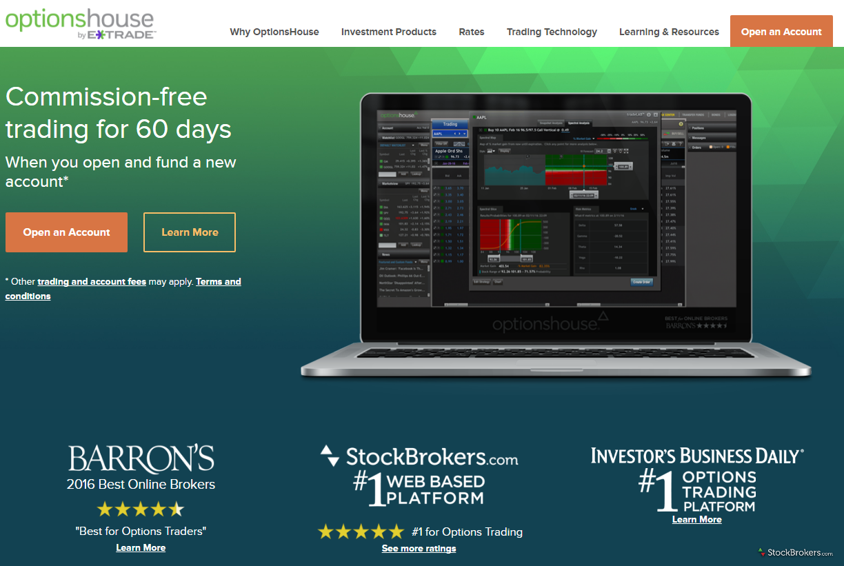 Best option trading broker