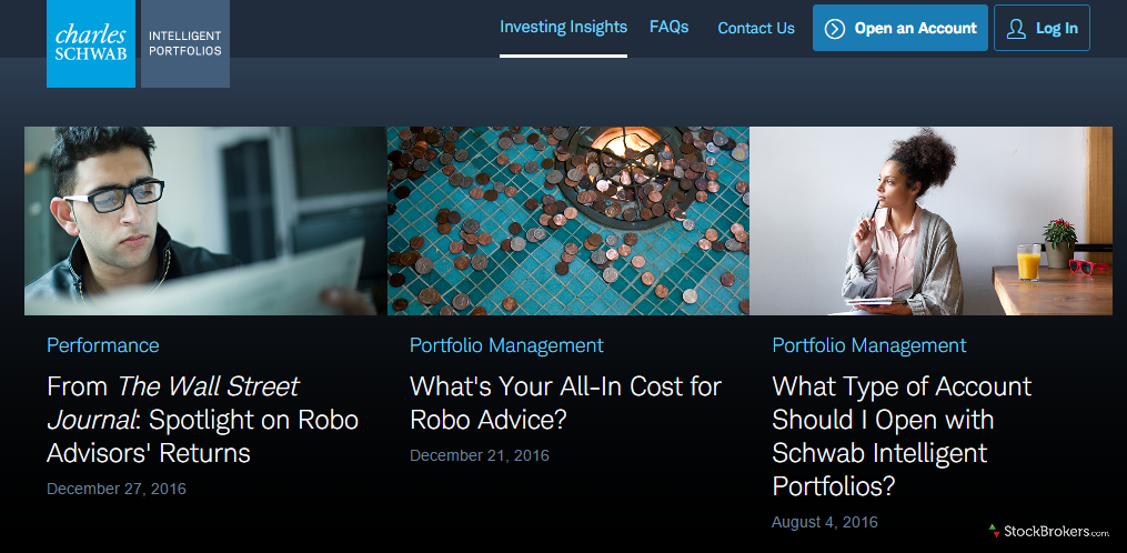 Schwab Intelligent Portfolios Investing Insights