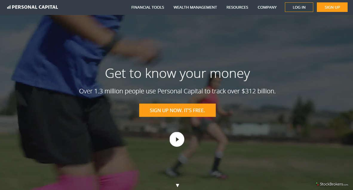 Personal Capital Homepage