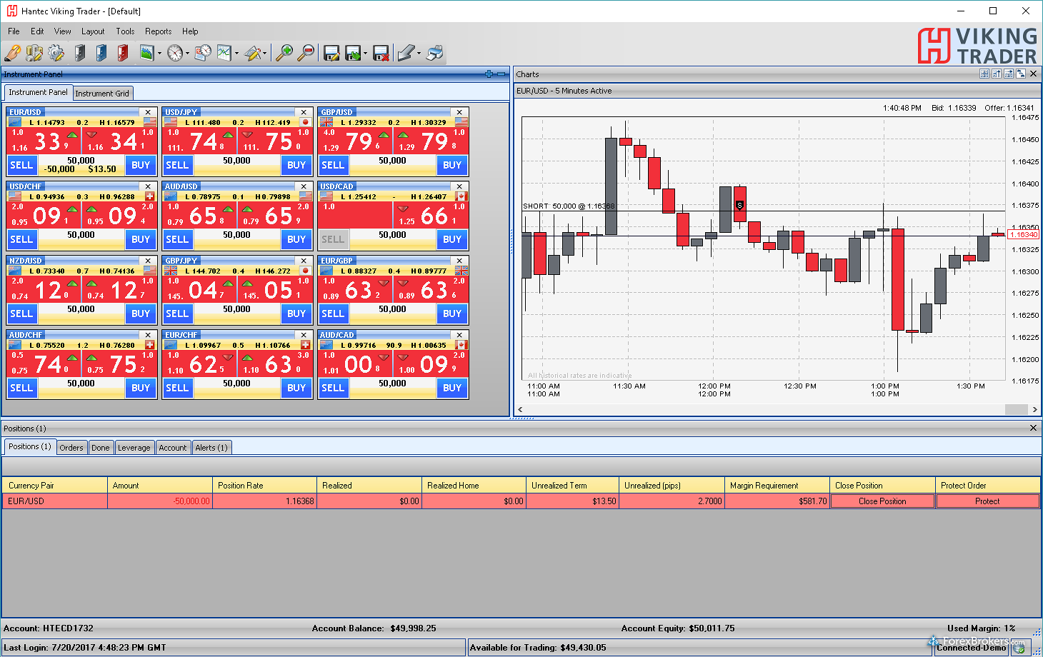 Hantec Currnex Viking Trader Desktop Windows