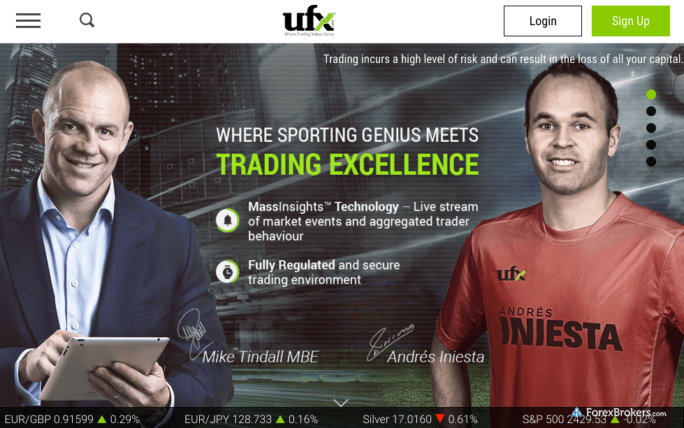 UFX Homepage