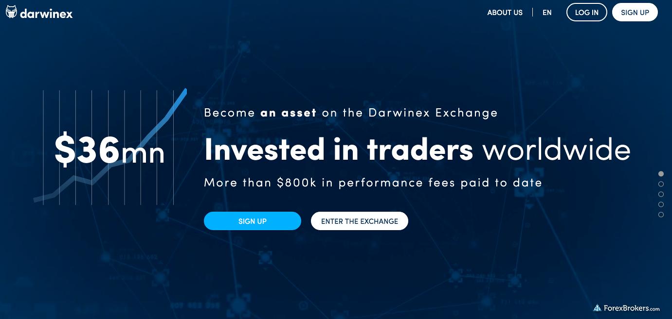 Darwinex Homepage
