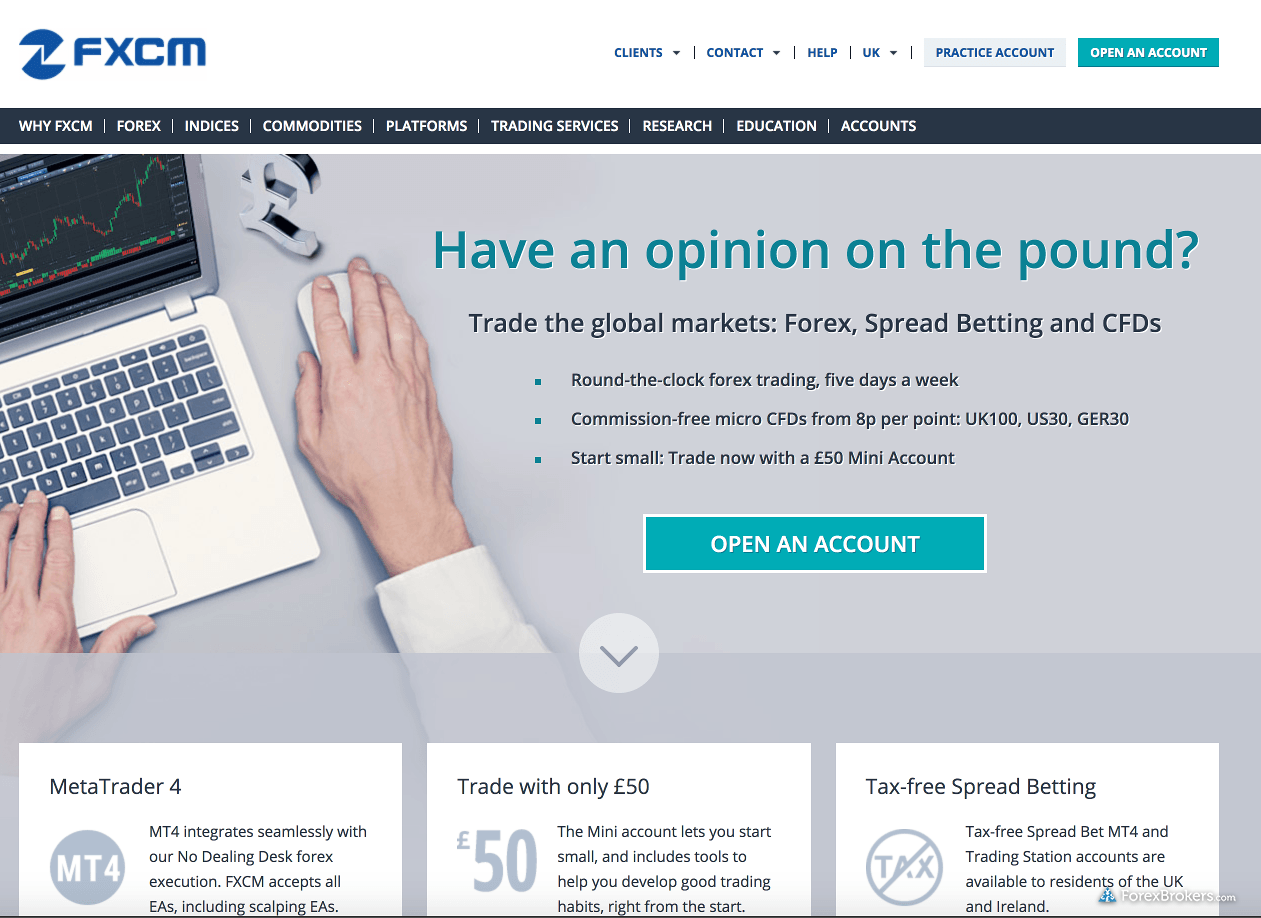Fxcm vs forex