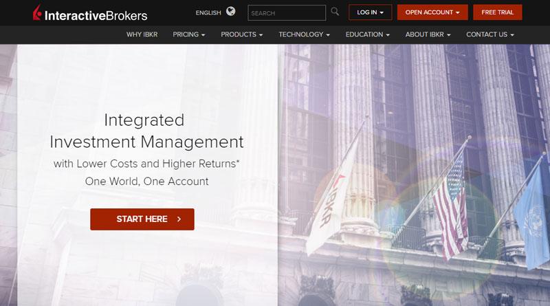 Interactive Brokers Homepage