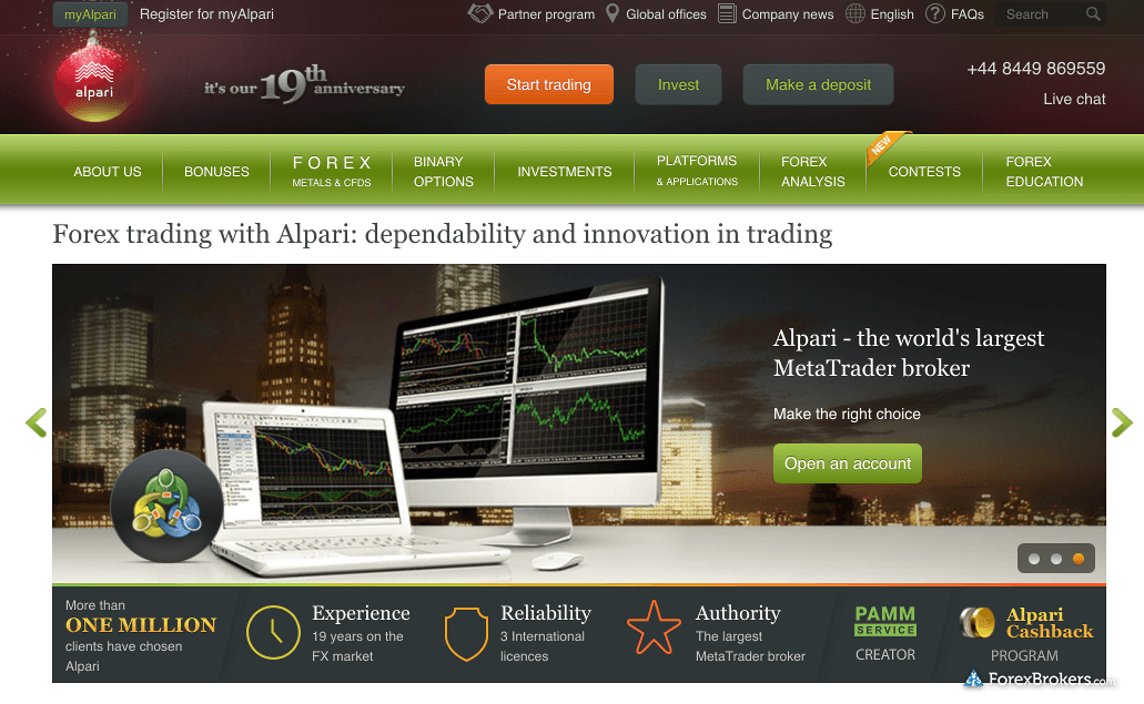 Alpari uk forex broker review