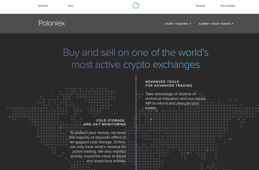 Poloniex Homepage