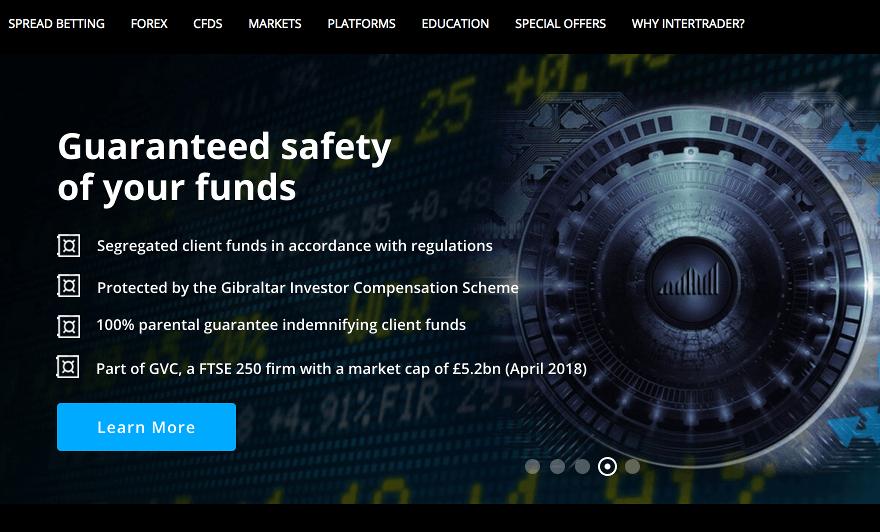 InterTrader Homepage