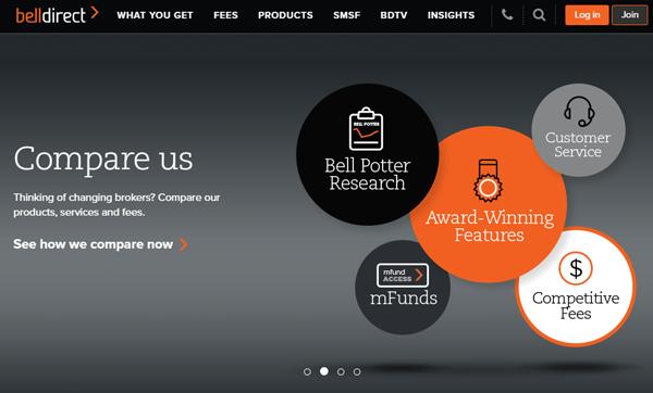 Belldirect homepage