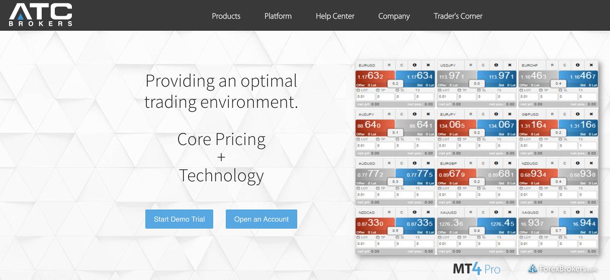 ATC Brokers Homepage