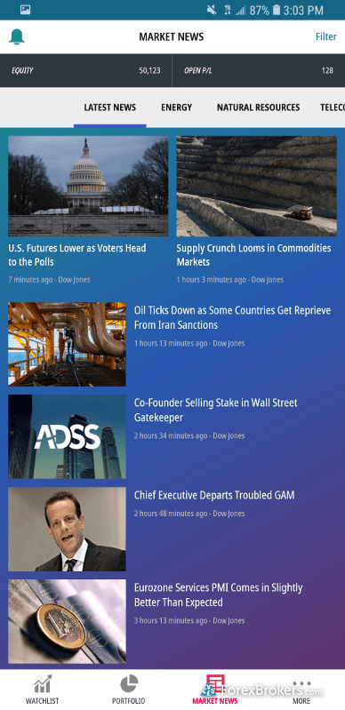 ADSS OREX mobile news