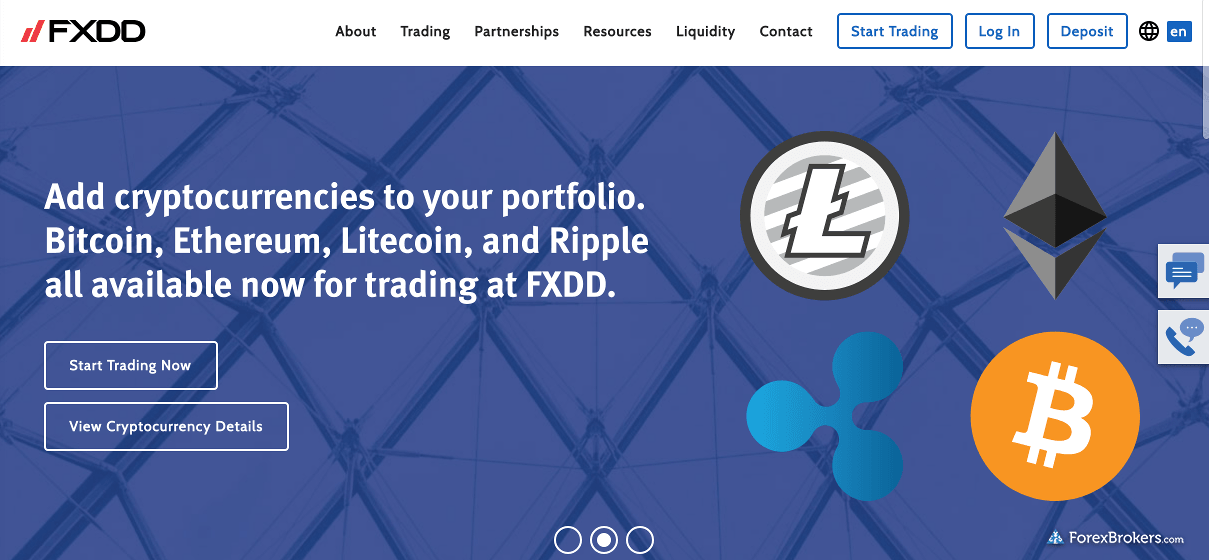 FXDD Homepage