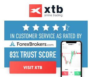 开设XTB经纪账户!