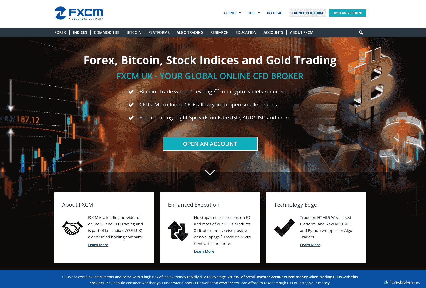 fxcm standard account