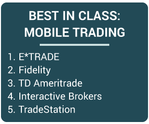 Best in Class - Mobile Trading