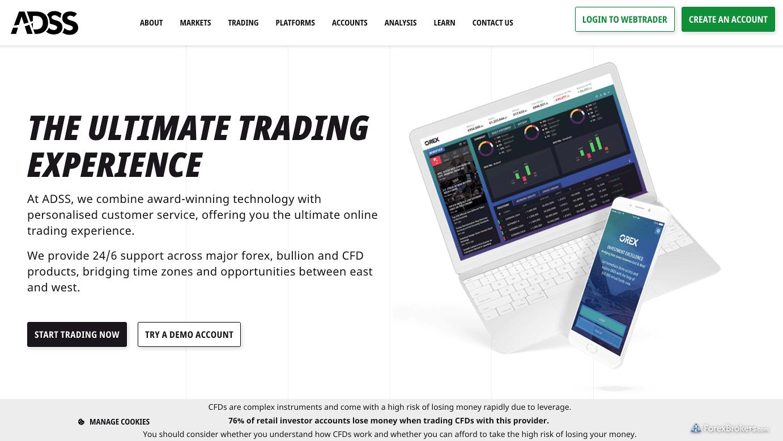 ADS Securities Homepage