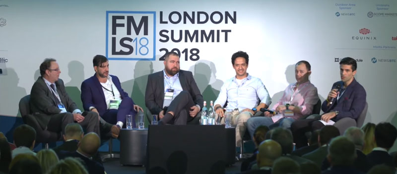 Steven Hatzakis Moderating the 2018 London Summit