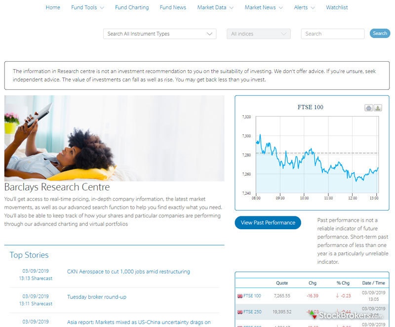 Barclays Smart Investor Homepage