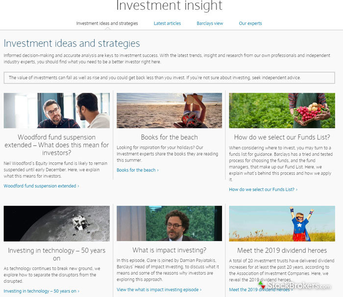 Barclays Smart Investor Investment Insight