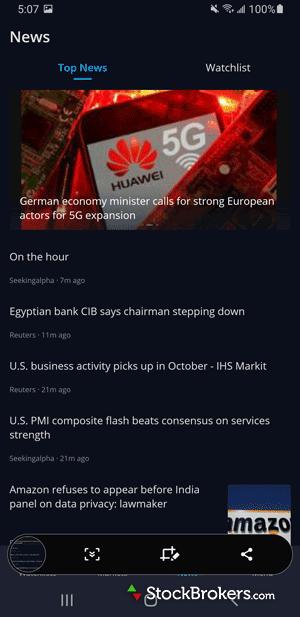 Webull Mobile news headlines