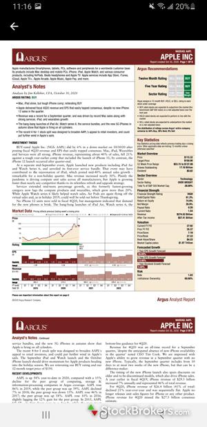 E*TRADE mobile mutual fund screener