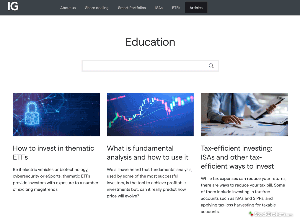 IG educational articles