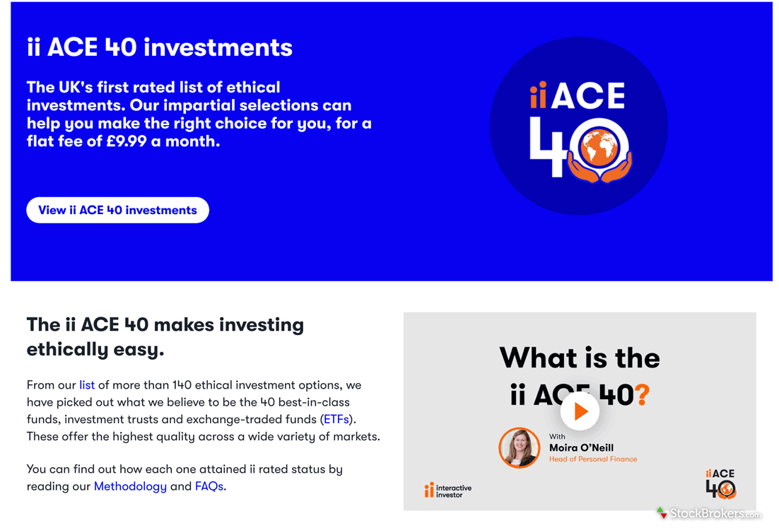 Interactive Investor ethical investing