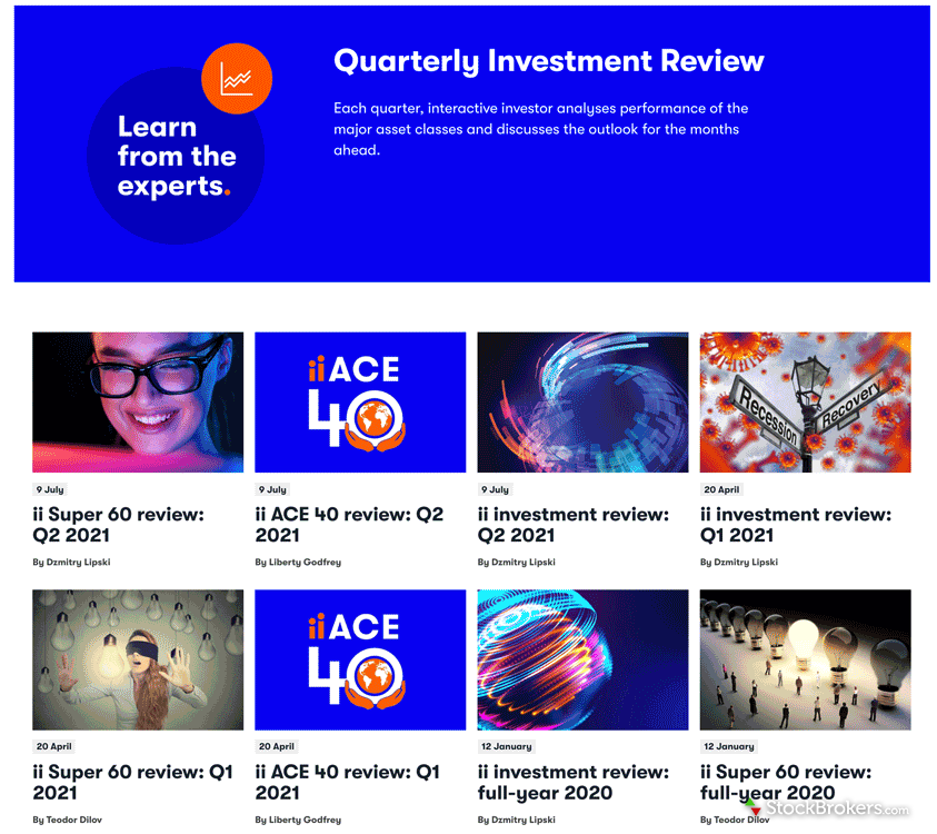 Interactive Investor research