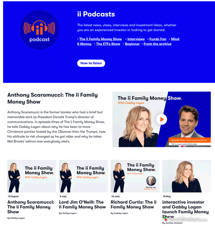 Interactive Investor podcast